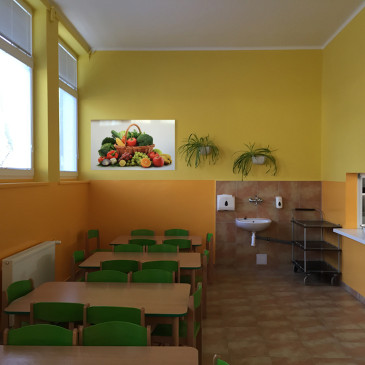 Jedáleň – interiér